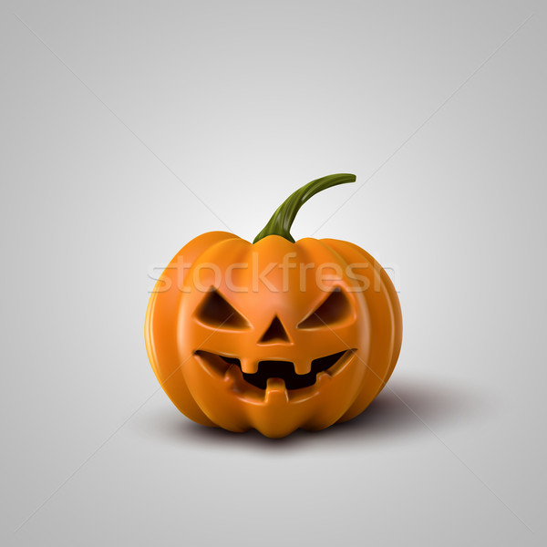 Vector Halloween Pumpkin. Stock photo © maximmmmum