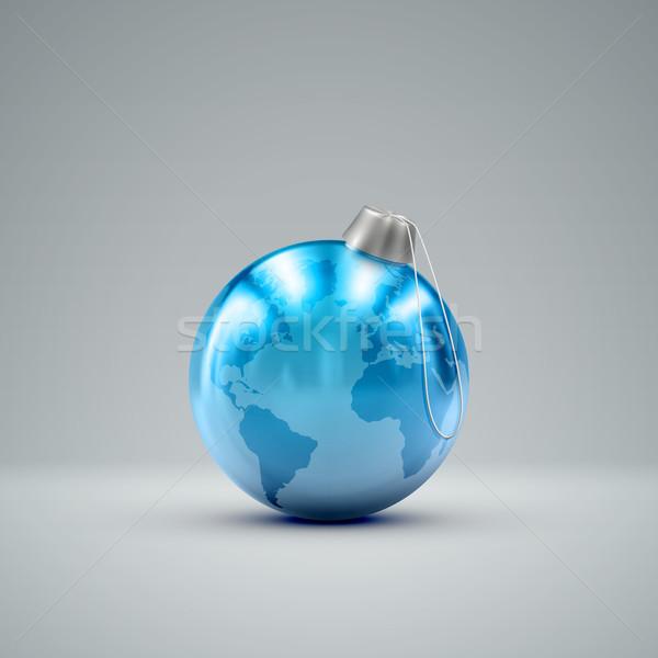 Рождества мяча праздник традиционный рождество Сток-фото © maximmmmum