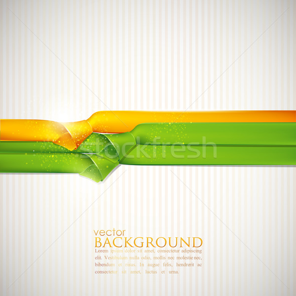 abstract background with multicolored ribbons Stock photo © maximmmmum