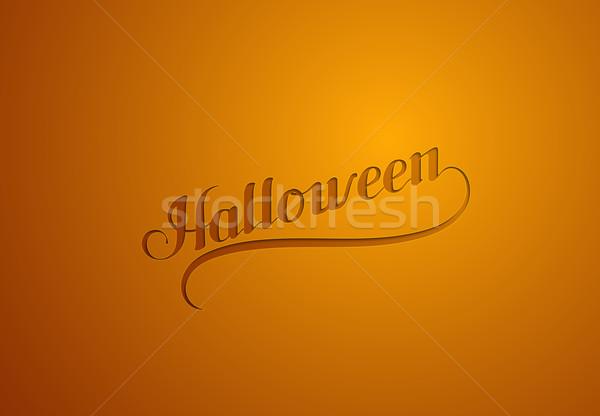 Halloween. Holiday Vector Illustration.  Stock photo © maximmmmum