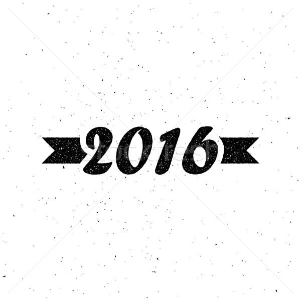 Happy New 2016 Year Stock photo © maximmmmum
