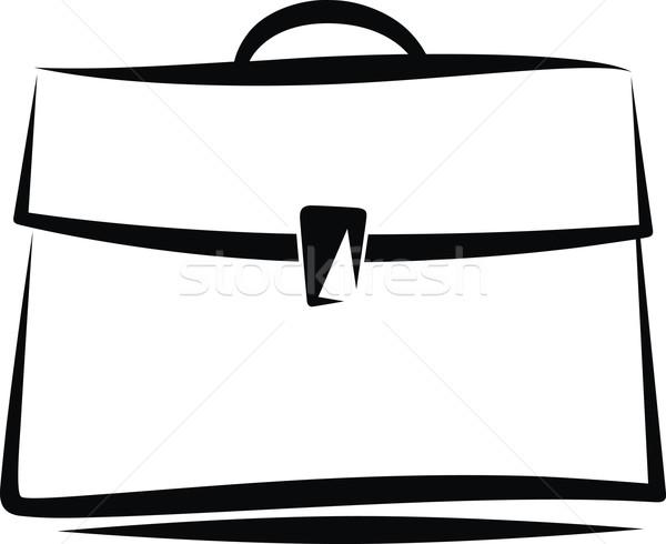 портфеля иллюстрация дизайна бизнесмен мужчин сумку Сток-фото © maximmmmum