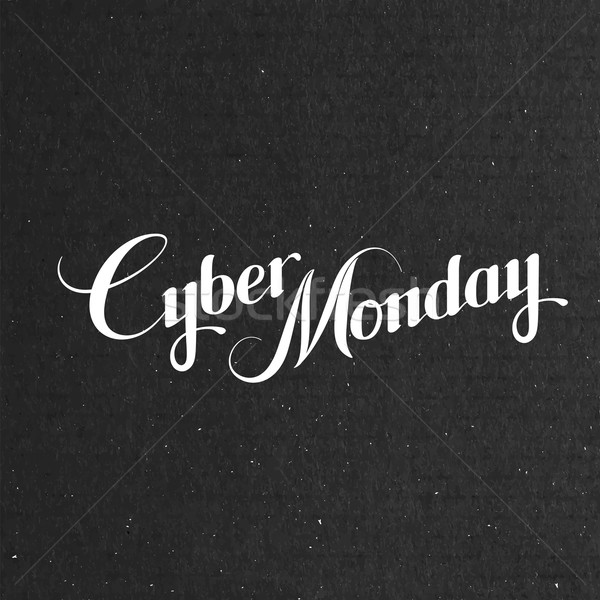 Cyber Monday Sale labe Stock photo © maximmmmum