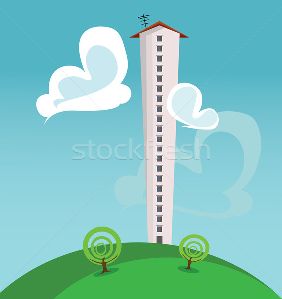 skyscraper Stock photo © maximmmmum