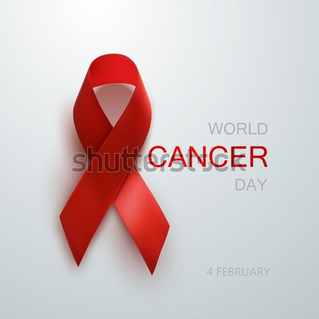 Aids Awareness Red Ribbon. Stock photo © maximmmmum