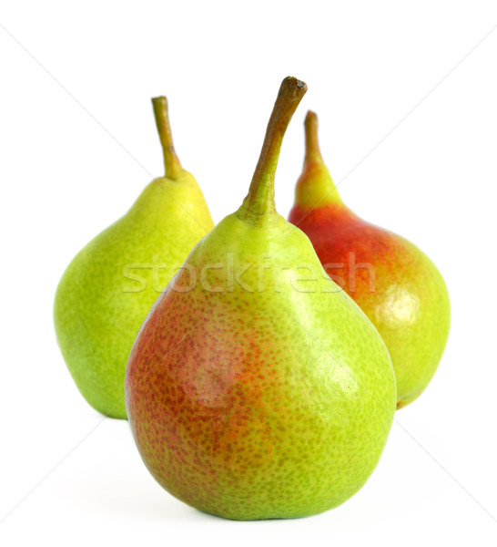 Fresh Ripe Pears Isolated on the White Background Stock photo © maxpro