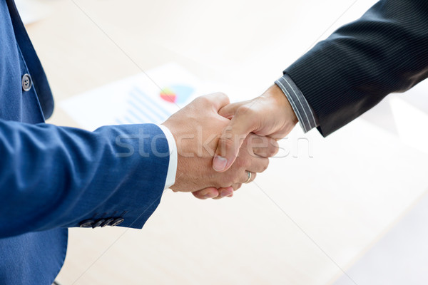 Business People Shaking Hands. Business Partnership Concept Stock photo © maxpro