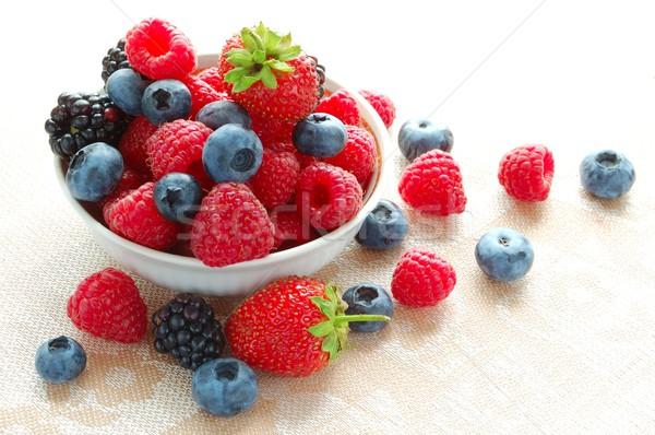 Big Pile of Fresh Berries Stock photo © maxpro