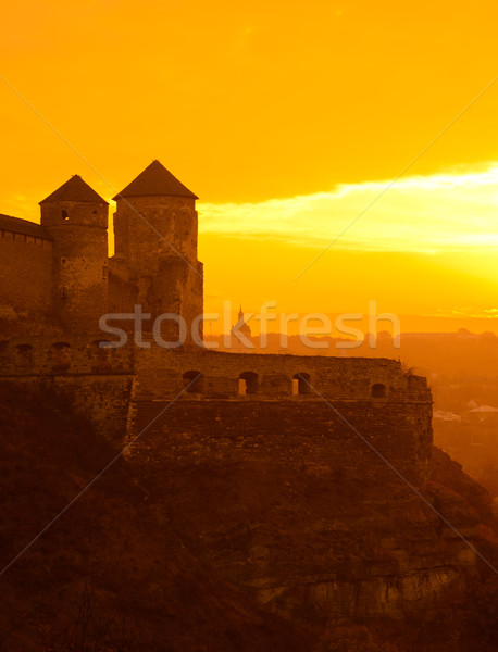 Stock photo: Old Fortress in the Ancient City of Kamyanets-Podilsky