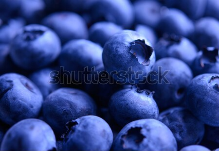 Background of Fresh Ripe Sweet Blueberries Stock photo © maxpro