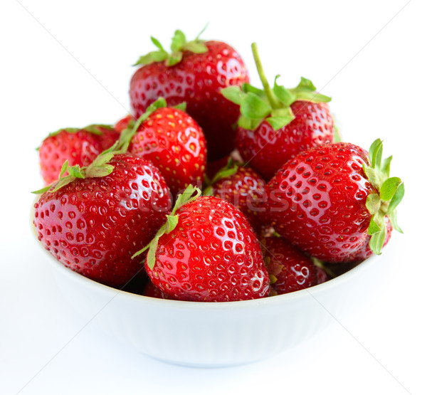 Big Pile of Fresh Berries on White Background Stock photo © maxpro