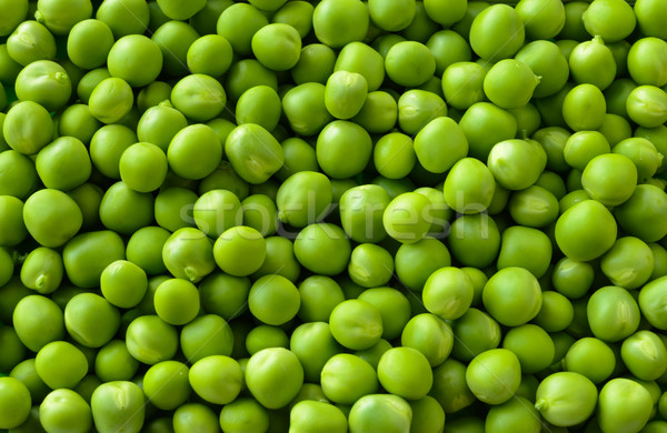 Stock photo: Background of Fresh Sweet Green Pea Ceeds