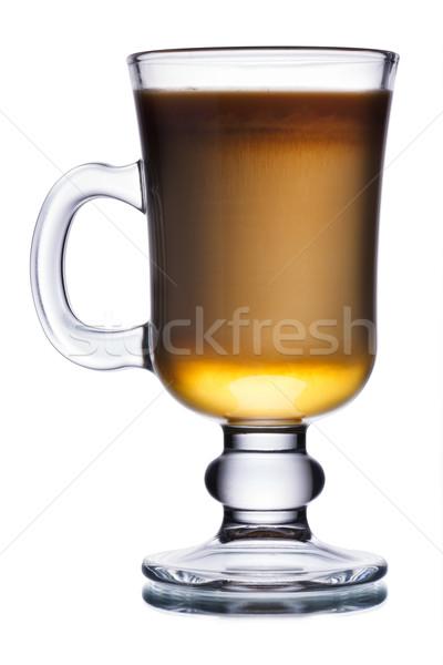 ирландский кофе стекла коктейль виски продовольствие Сток-фото © maxsol7
