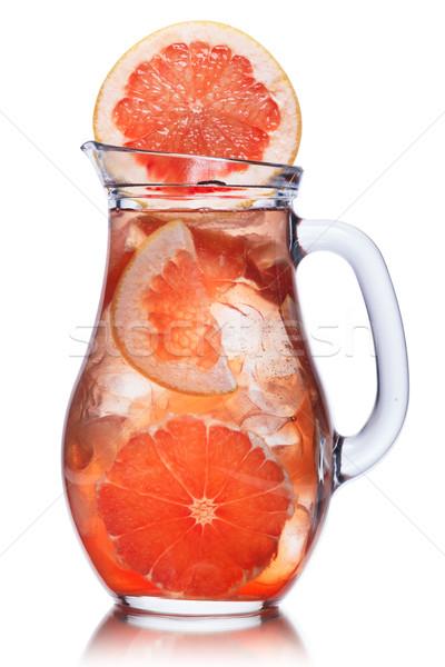 грейпфрут лимонад кувшин фрукты фон Vintage Сток-фото © maxsol7