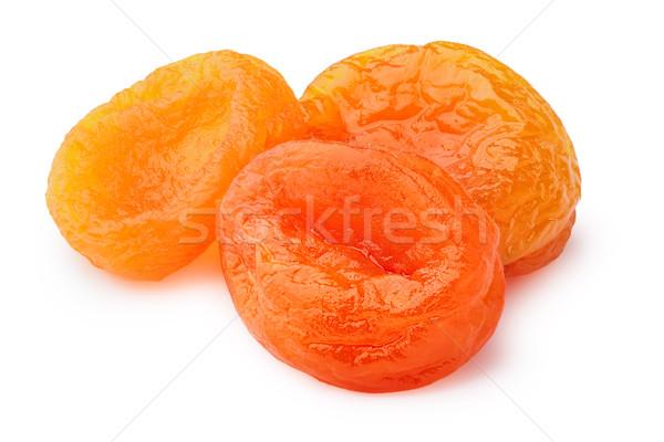 Dried apricots (kuraga) isolated Stock photo © maxsol7