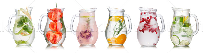 Detox water collection Stock photo © maxsol7