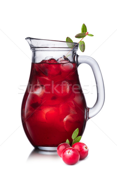 Cranberry drink Stock photo © maxsol7