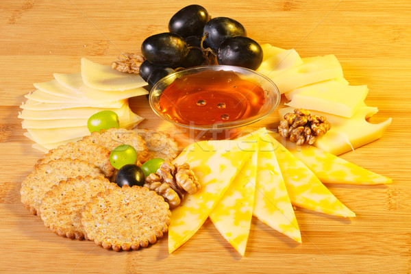 Cheese platter Stock photo © maxsol7