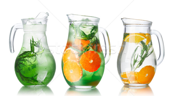 Detox water with tarragon Stock photo © maxsol7