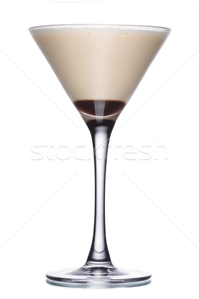 Coffec cocktail with liqueur Stock photo © maxsol7