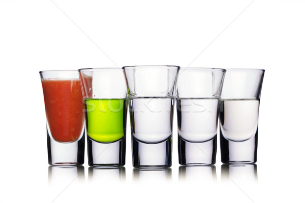 Colorful shot drinks Stock photo © maxsol7