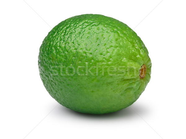 Whole leafless lime isolated Stock photo © maxsol7