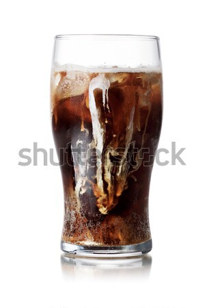 Málta ital üdítő üdítőital üveg jég Stock fotó © maxsol7
