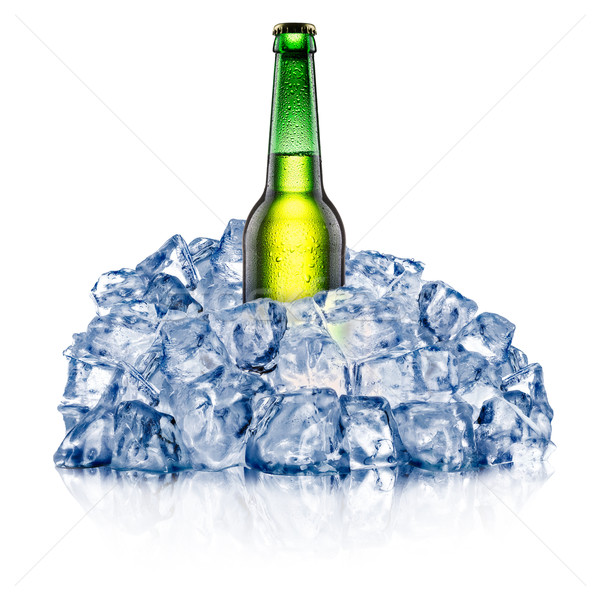 Resfriamento verde para baixo áspero gelo Foto stock © maxsol7