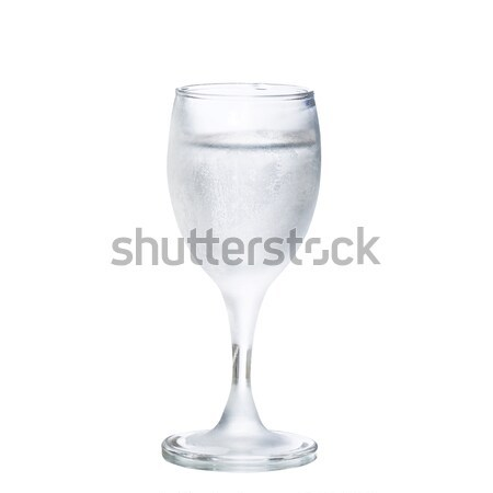 Glas wodka witte schone alcohol shot Stockfoto © maxsol7