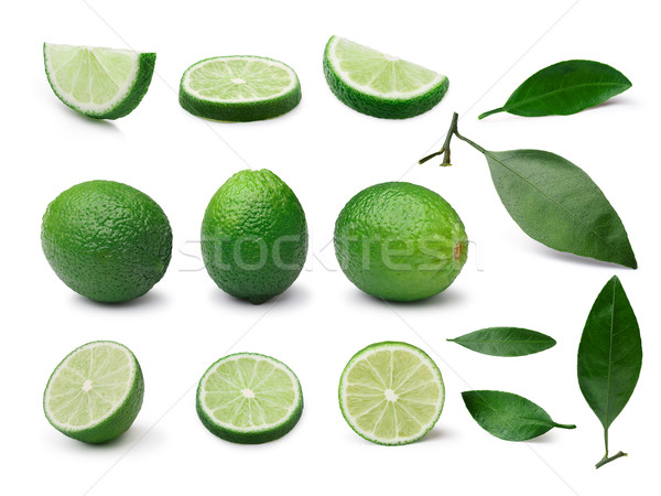 Lime isolated kit Stock photo © maxsol7
