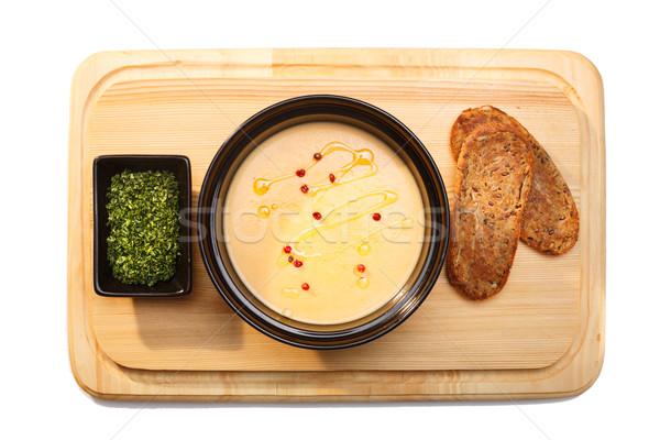 Soup puree Stock photo © maxsol7