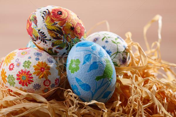 Easter eggs Stock photo © maxsol7