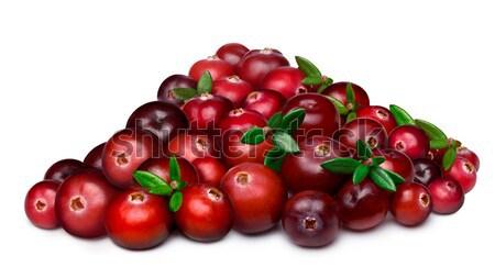 Heap of cranberry Stock photo © maxsol7
