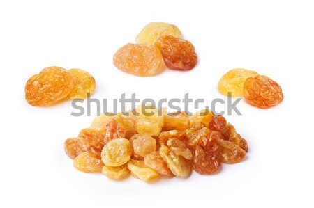 Golden seedless raisins bundle Stock photo © maxsol7
