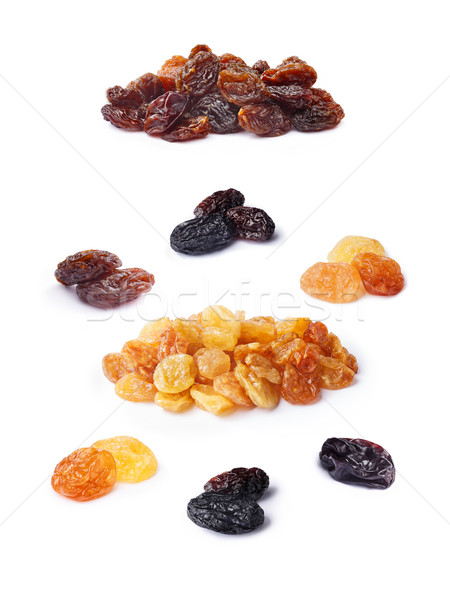 Variety of raisins set Stock photo © maxsol7