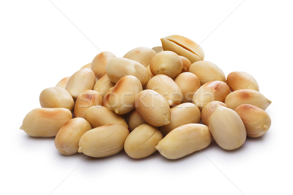 Blanched, roasted peanuts Stock photo © maxsol7