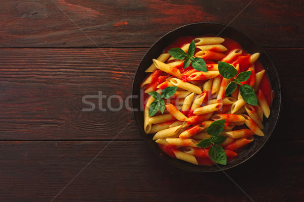 Pasta penne rigate Stock photo © maxsol7