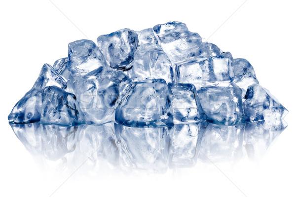 Rough crushed ice heap Stock photo © maxsol7