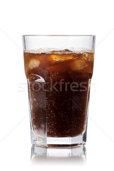 Foto stock: Malta · sosa · bebida · sin · alcohol · vidrio · hielo