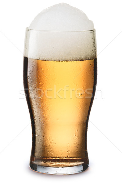 Mosit glass of light beer  Stock photo © maxsol7
