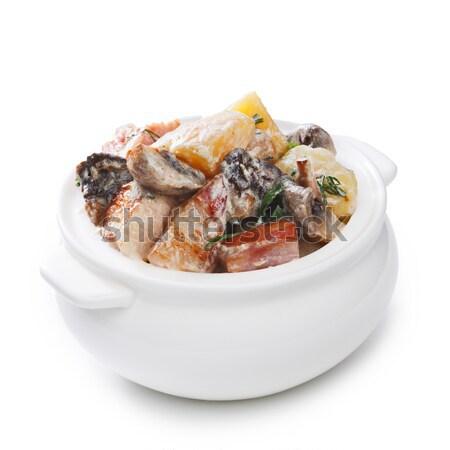 Ragout in a pot Stock photo © maxsol7