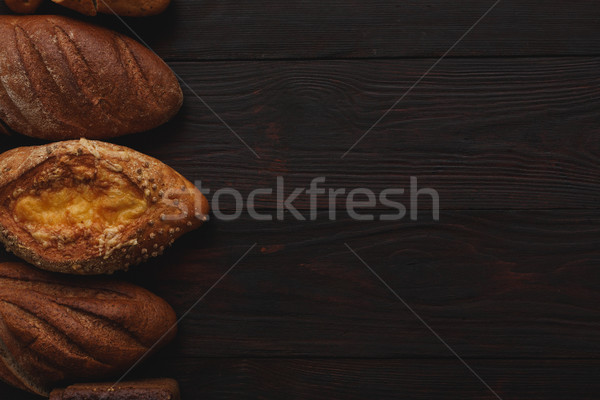 Different wholegrain breads Stock photo © maxsol7