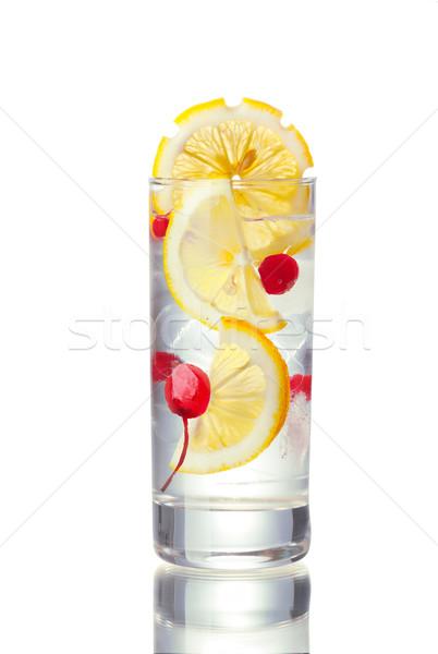 John Collins alcoholic cocktail Stock photo © maxsol7