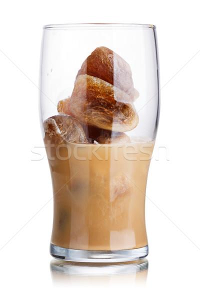 Milk coffee cocktail Stock photo © maxsol7