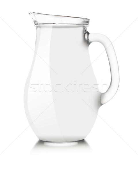 White pitcher mockup Stock photo © maxsol7