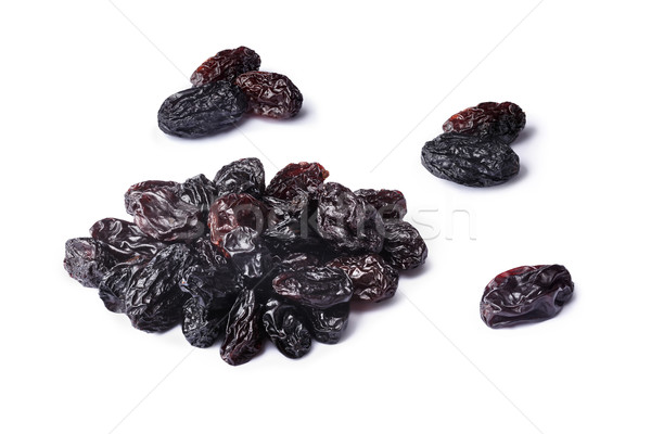 Dark seedless raisins set Stock photo © maxsol7