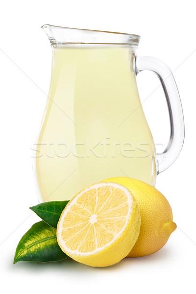 Pitcher of lemon juice Stock photo © maxsol7
