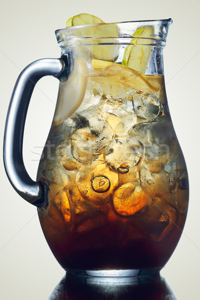 Jug of ice tea  Stock photo © maxsol7