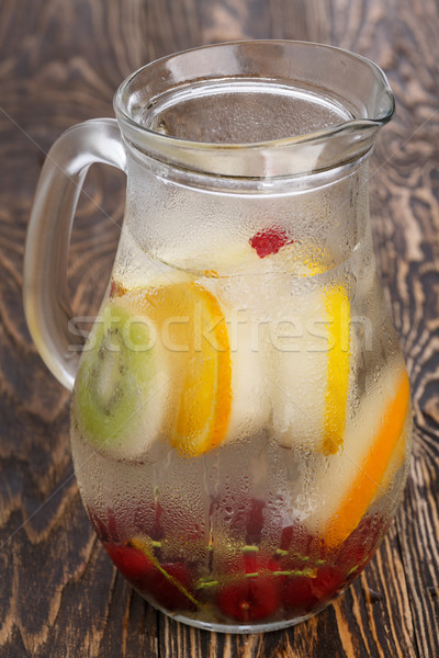 Detox water with popsicles Stock photo © maxsol7