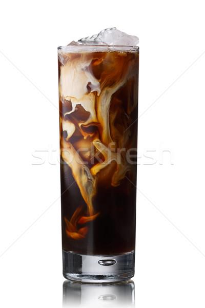 Jeges kávé Dublin krém jég koktél Stock fotó © maxsol7